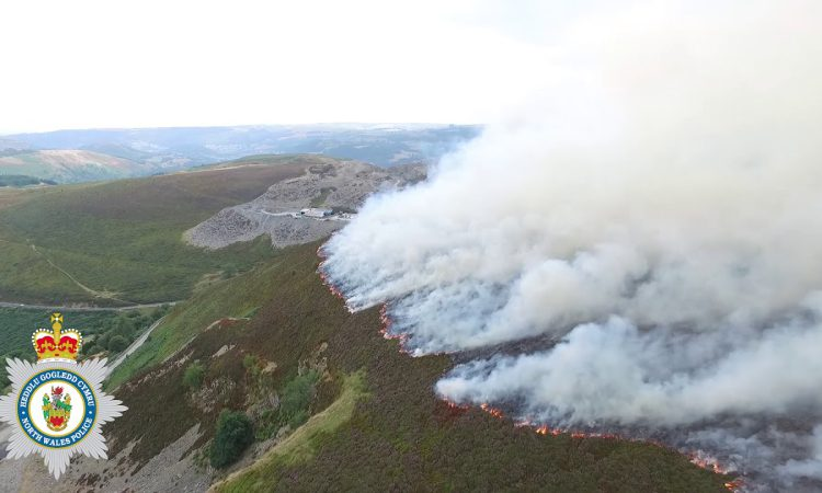 Report: Agricultural downturn contributed to severity of 2-month mountain blaze