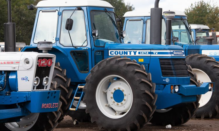 Auction report: £94,000 (plus commission) for a gleaming County 1474 TW
