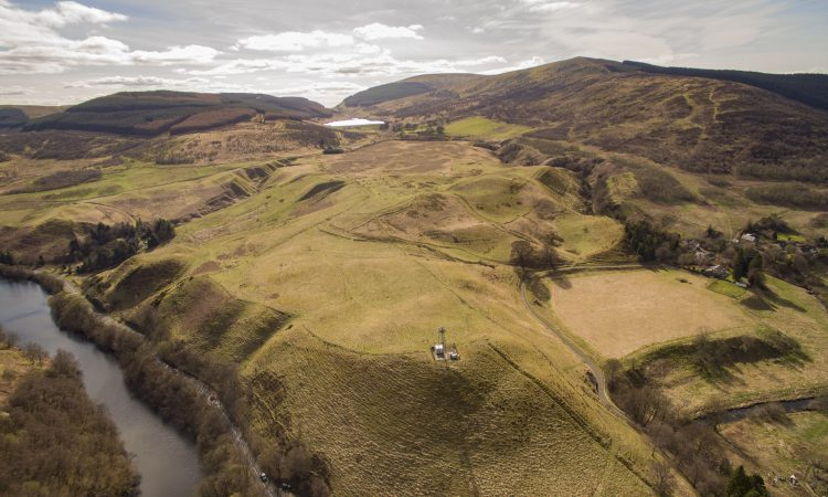 141ac of hill ground and pasture land for sale includes telecoms mast lease