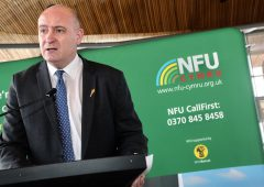 NFU Cymru has expressed 'profound disappointment' on water regulation vote
