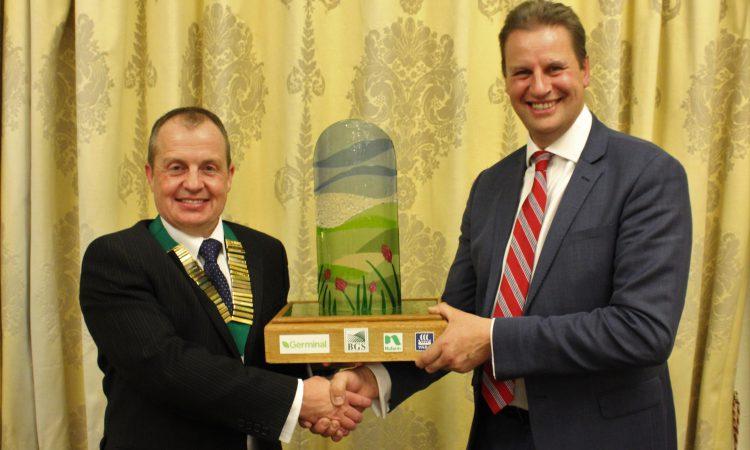 Co. Down farmer honoured with grassland award