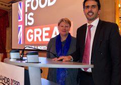 UK's £3 billion agri-food exports celebrated at AHDB's 'British Meat Dinner'