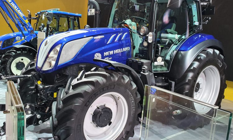 How many new tractors are selling in Ireland?