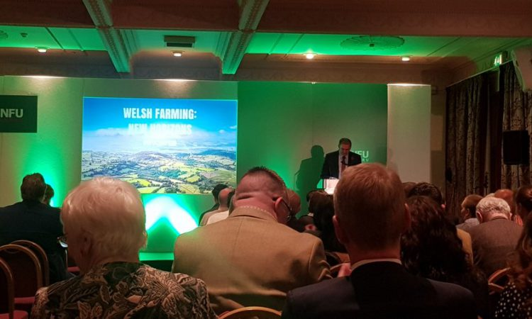 NFU Cymru conference: Welsh farming can tackle future challenges