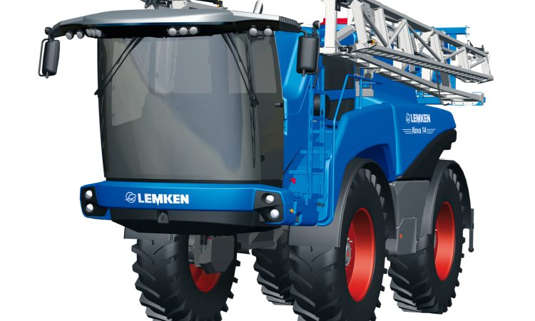 Lemken self-propelled sprayer is imminent