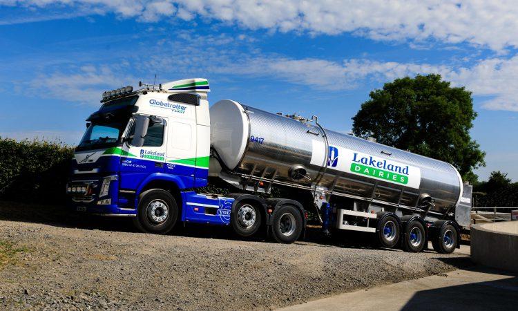 Lakeland sets milk price for October supplies