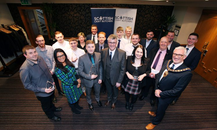 Top Scottish butchery talent celebrated at National Training Awards