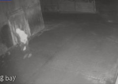 Police release CCTV footage of thief stealing agri diesel