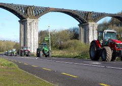 Video: Cork convoy hits the road…to warm up for a '500-strong tractor run'
