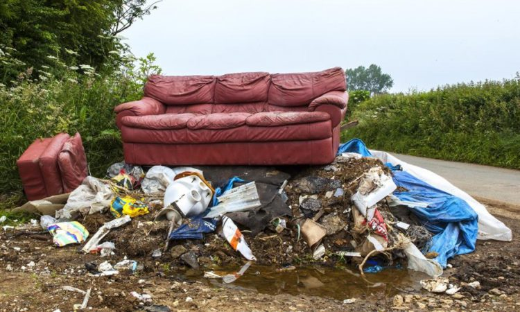 Fly-tipping rise: NFU backs new national waste unit to tackle crime 'nightmare'