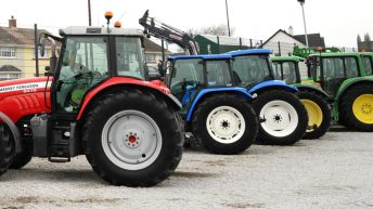 Farmers warned to be vigilant after a spate of tractor navigation thefts
