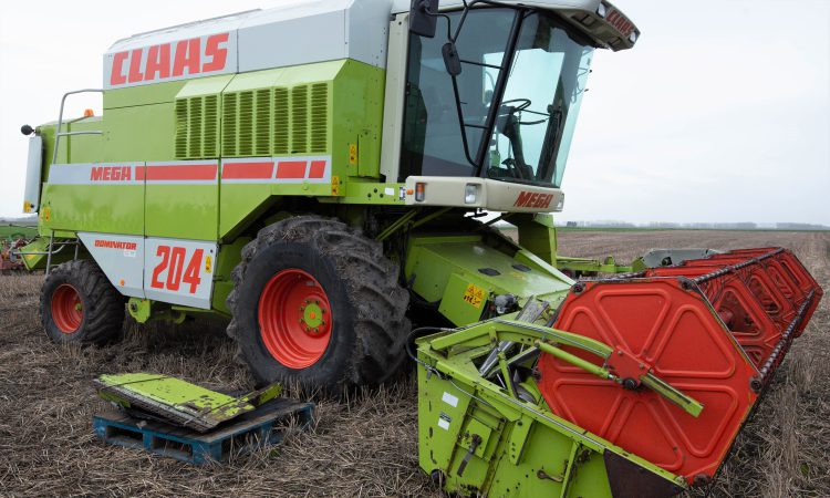 Auction report: Looking for a bargain with a touch of 'Claas'?