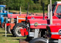 Auction report: Coveted tractor collection goes 'under the hammer'