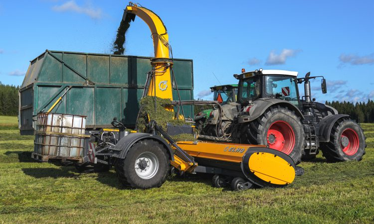 New breed of high-output trailed forage harvester on the way?