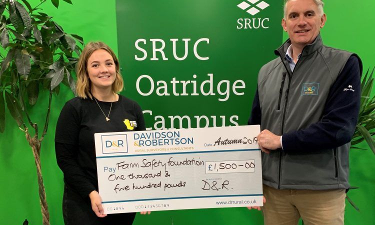 Rural surveyor D&R donates £1,500 to mental health campaign