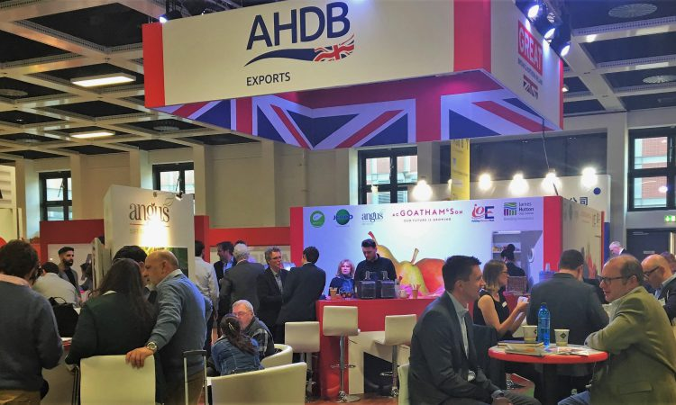 AHDB support seed potato exporters at international trade show