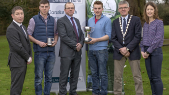 Who were the winners in the UGS Grassland Farmer of the Year awards?