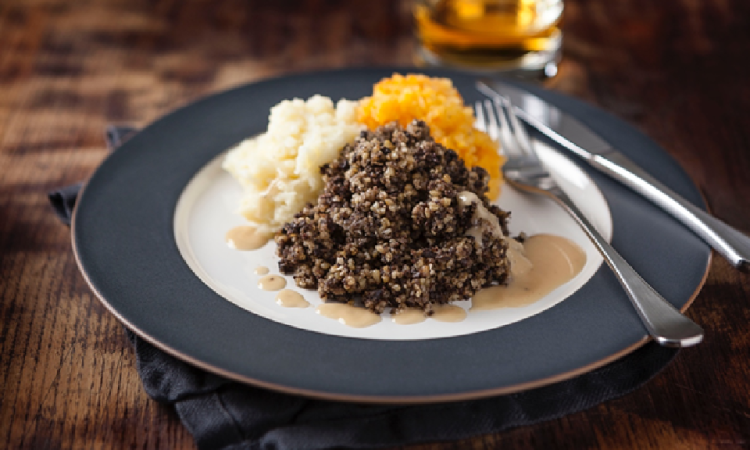 Burns Night boost sees Scottish haggis exports grow 136% in a decade