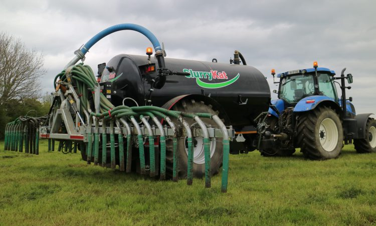 NI farmers warned to be aware of new slurry spreading rules