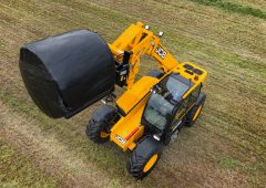 Think you can 'handle' this: JCB unveils nimble new 'livestock' Loadall