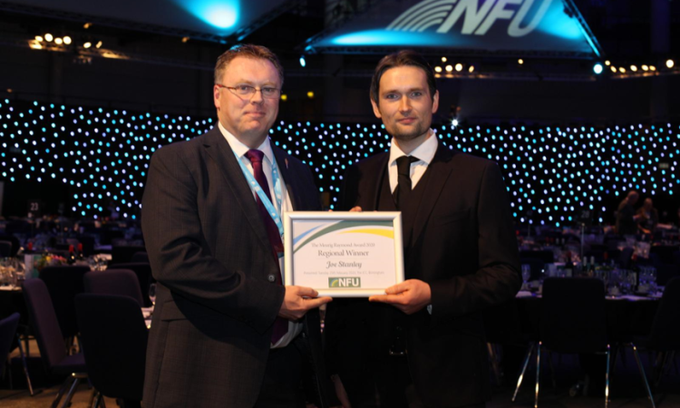 NFU honours Leicestershire-based farmer for grassroots commitment