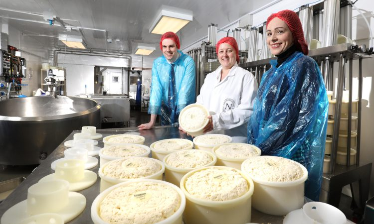 North-east cheese manufacturer trebles capacity with rural business grant