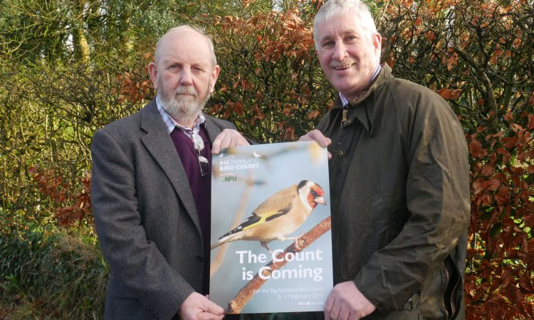 UFU asks farmers to get counting in the Big Farmland Bird Count