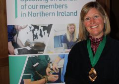 New president steps up to take on dual BVA NI and NIVA role