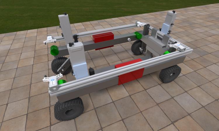 Concept autonomous guided vehicles designed for UK horticultural businesses