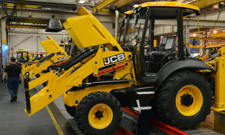 JCB to extend UK production shutdown to 'at least' end of April
