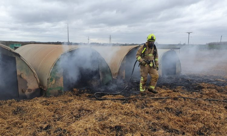 Farm fire started…by 'pigs and a pedometer'