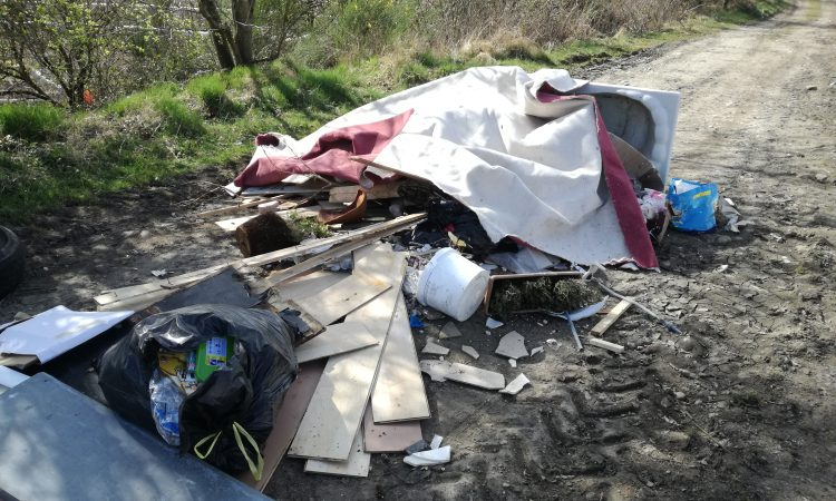 Farmers report surge in fly-tipping incidents as lockdown sees dumps closed