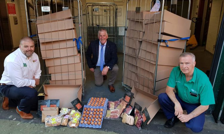 NI farmers show their appreciation to the NHS with local produce