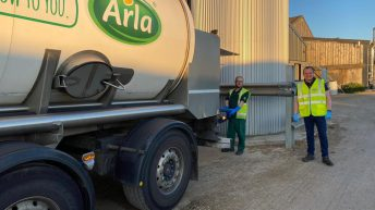 Dairy co-op trained farmers to collect milk in Covid-19 back-up plan
