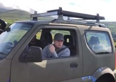 'This is private land': Farmer confronts 4X4 over trespassing