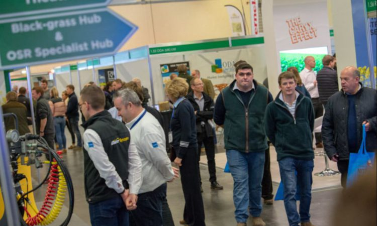 Organisers say CropTec is still on track to be a face-to-face event in 2020