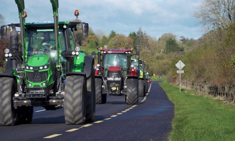 Parades Commission gives NI's first post-Covid tractor run the green light