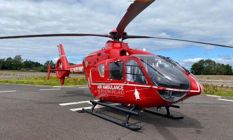 Country girl launches campaign for government to fund NI's air ambulance