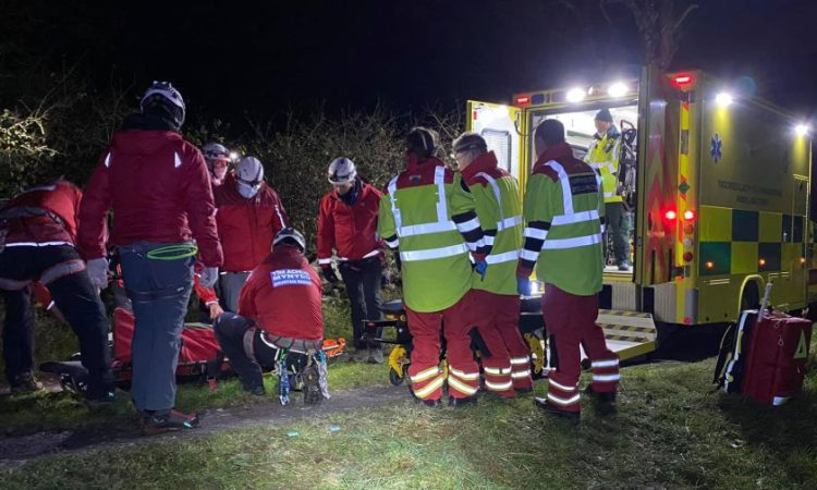 Farmer suffers serious injuries after falling into a quarry