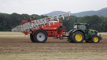 New boom spreader on the market from KUHN