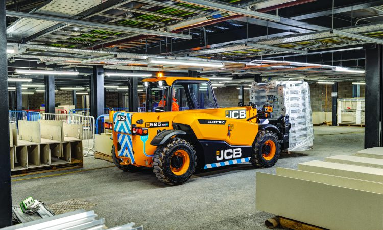 Pics: JCB unveils first ever 'zero-emission' electric Loadall