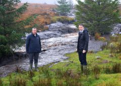 Peat slide: Ministers 'shocked' at devastation as cross-border response group visits site