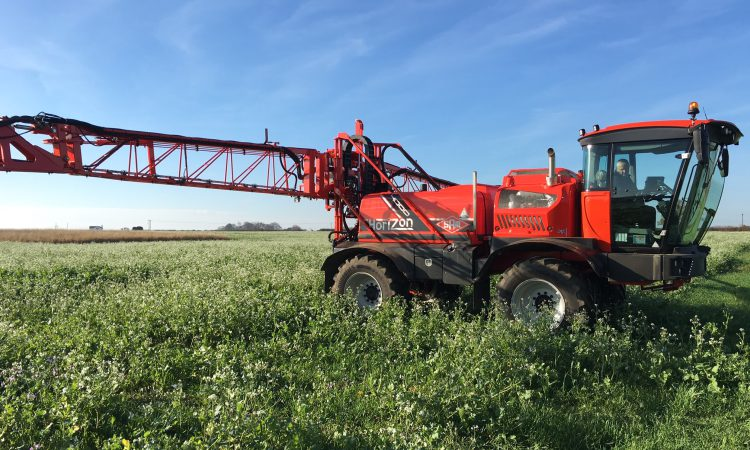New 'intelligent tyres' from Continental fitted to a sprayer for the first time