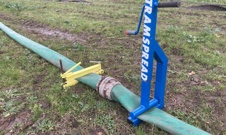 New Tramspread slurry pinchers aim to reduce spillages