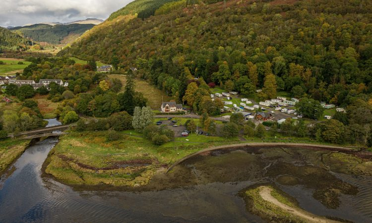 4.3ac site for sale in Scotland with active car park