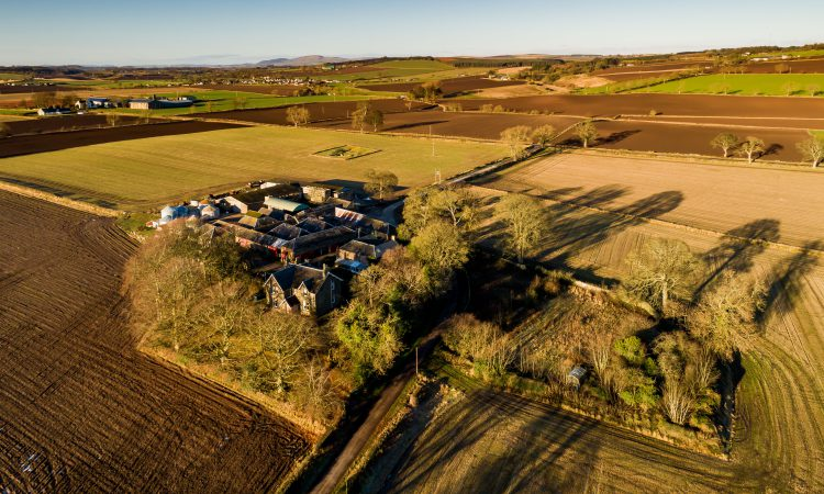 297ac farm of prime arable land hits the market in Angus