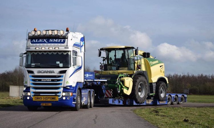 World's biggest harvester makes its way to Ireland
