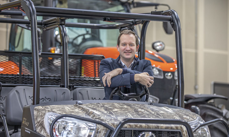 Kubota UK appoints new general manager for its Tractor Business Unit