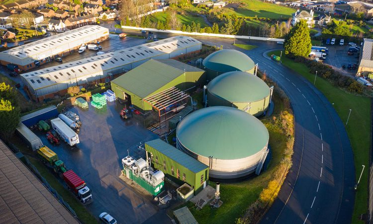 Biomethane boost: NI biogas plant to power 'green' trucks with food waste