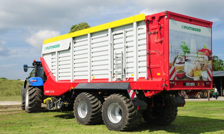 Pottinger launches 3 new additions to its forage wagon range